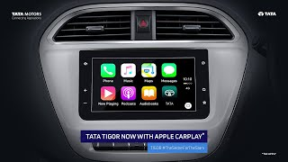 Tata Tigor - Now with Apple CarPlay