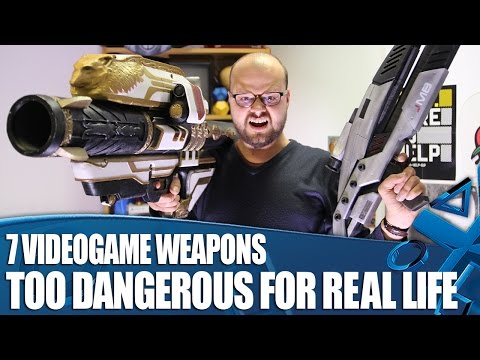 7 Videogame Weapons Way Too Dangerous For Real Life (But We Made Them Anyway)