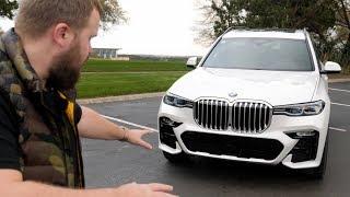 Один день с BMW X7