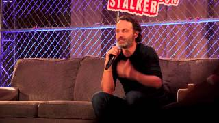 Andrew Lincoln on Developing Rick