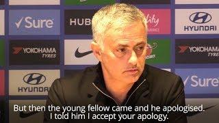 Jose Mourinho Accepts Chelsea Coach's Apology Over Equaliser Celebration