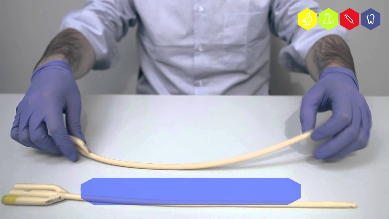 Как в домашних условиях поменять катетер фолея