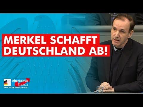 Merkel schafft Deutschland ab! - Dr. Gottfried Curio - AfD-Fraktion im Bundestag