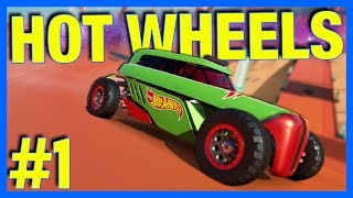 Forza Horizon 3 Hot Wheels Gameplay : Loops, Huge Jumps & Crazy Speed!! (Part 1)