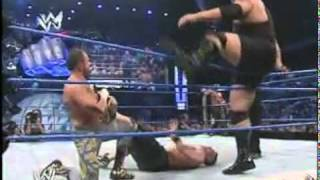 John Cena & Rey Mysterio Vs Big Show & Chavo Guerrero (HQ)
