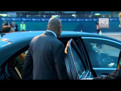 President Jacob Zuma arrives in Brisbane for G20 Summit