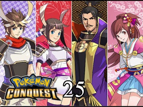 Pokemon Conquest Walkthrough #025: Battled Ieyasu at Valora