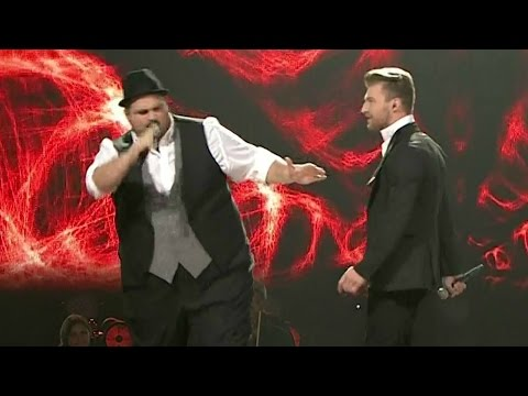 "The Voice of Poland VI – Maciej Grenda i William Prestigiacomo – ""Hit The Road Jack"" – Live"