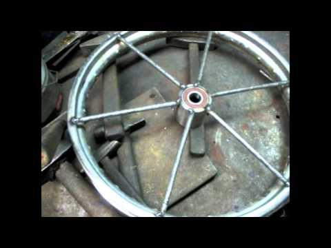Как сделать мощные колёса на тачку