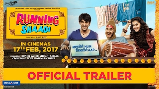 RunningShaadi.com | Official Trailer | Taapsee Pannu | Amit Sadh | Releasing 3rd Feb 2017