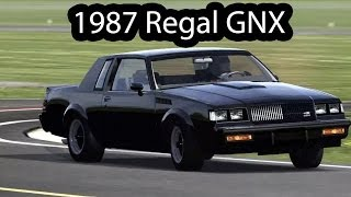 1987 Buick GNX Top Gear Test Track