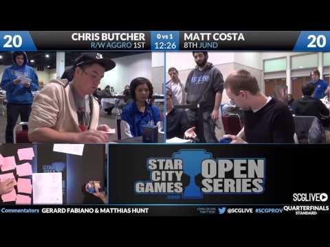 SCGProv - Std - Quarterfinals - Chris Butcher vs Matt Costa