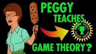 Peggy teaches A GAME THEORY
