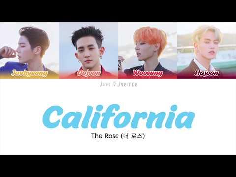 Download  THE ROSE - CALIFORNIA ENG Color Coded s Gratis, download lagu terbaru