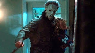 Michael Myers Kills Officers and Kidnapped Laurie - Halloween (2007) Movie Clip HD