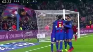 Barcelona vs Leganes 2 X 1 - All Goals - Doblete De Messi