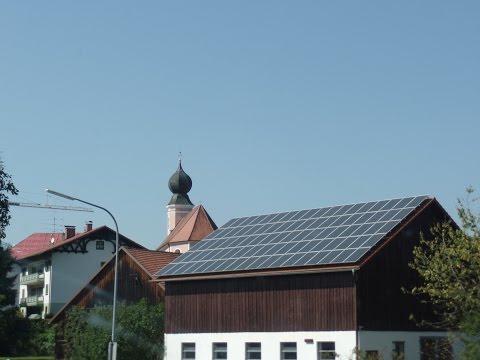 солнечные батареи в Германии уже стоят даже на сараях