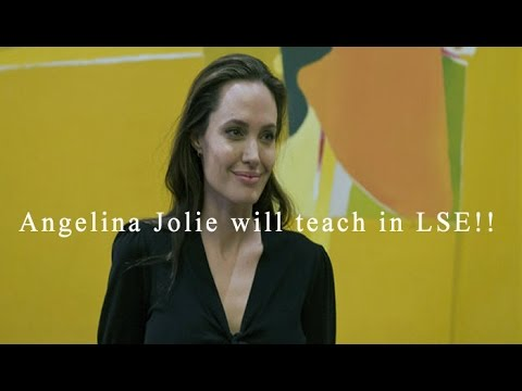 Angelina Jolie gets new role as visiting professor at LSe : NewspointTV