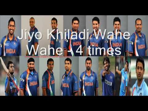 De Ghumake( Icc Cricket World Cup 2011 Theme Song) video