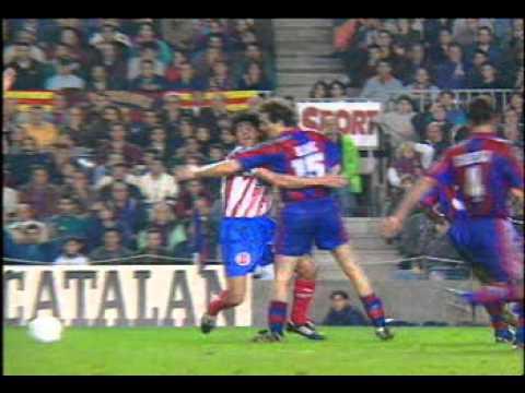 Barça of Ronaldo, Stoichkov, Guardiola, Luis Enrique, Figo, Bobby Robson, Mourinho, etc.