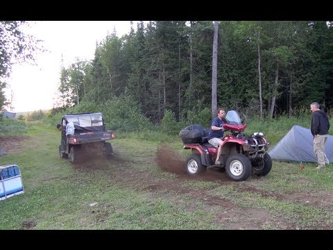 Yamaha Grizzly 660 vs Polaris ranger. outstanding pull!! PowerModz!