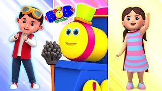 Cleaning Superheroes : Bob Shorts | Storytime for Children | Learning Videos for Kids
