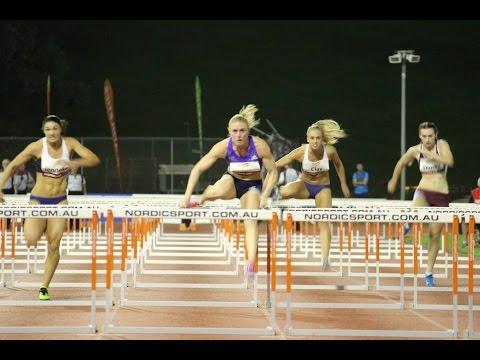100m Hurdles W | Sally Pearson 12.74 | QLD Track Classic