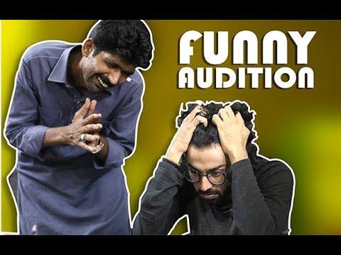 Asghar Khoso's Funny Audition   Desi Funkaar    Asghar Khoso Funny Video