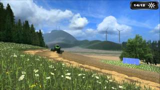 first, cow, tractor, farmer, Süddeutschland, Map, Landwirtschafts, Simulator, 2011, preview, modding, society