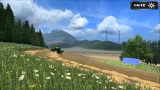 first, cow, tractor, farmer, Süddeutschland, Map, Landwirtschafts, Simulator, 2011, preview, modding, society