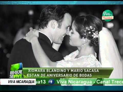 Xiomara Blandino y Mario Sacasa están de aniversario de bodas