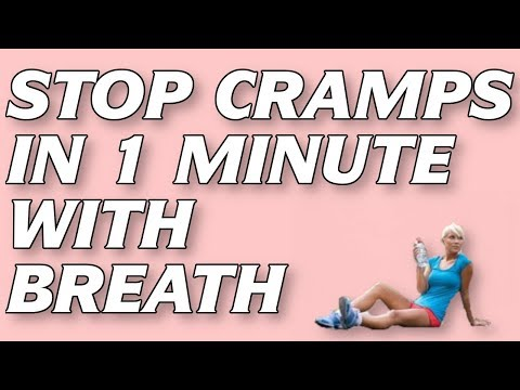 how to get rid of stomach cramps when running