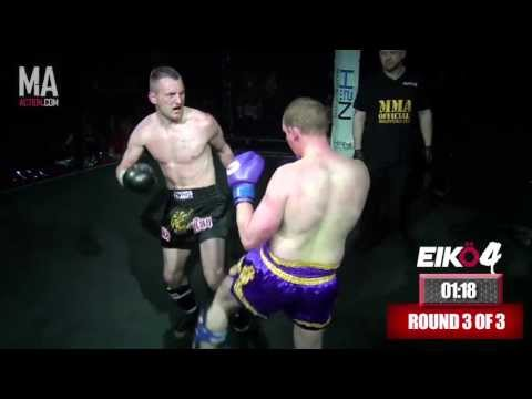 EIK� 4 -  Simon Lofthouse vs Chris Thorpe (Amateur K1)