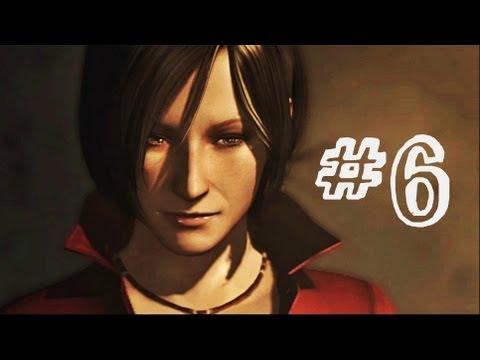 Resident Evil 6 Gameplay Walkthrough Part 6 - UBISTVO - Ada Wong Campaign Chapter 3 (RE6)