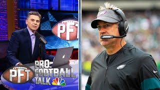 PFT OT: Pederson's guarantee falls short, Travis Kelce talks Chiefs | Pro Football Talk | NBC Sports