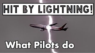 Aircraft Lightning strikes - How I handled it