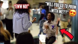 SHE SAID NO!!! | PROM PROPOSAL GONE TERRIBLY WRONG!!😱