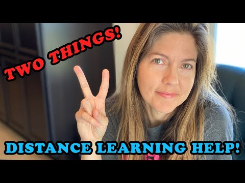 2 things your children need from you during distance learning
