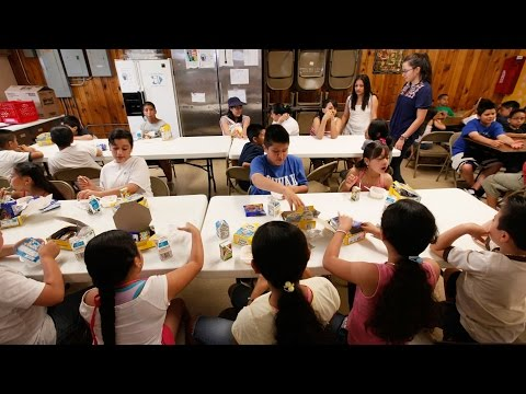 Study: Nation's Third-Graders Now Eating At A Ninth-Grade Level