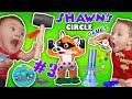 Shawn's Circle: GIANT KERPLUNK GAME + Pop Goes the Weasel w/ Hexbug Toys + MORE (#3) | DOH MUCH FUN