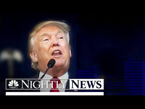 Donald Trump Invokes Monica Lewinsky Scandal In Clinton Attacks | NBC Nightly News