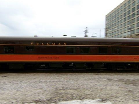 Pullman rail cars: A detour back through time