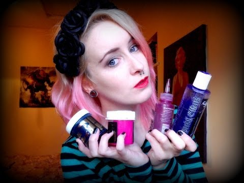 Colourful Hair Dye's Review! Directions, Special Effects, Stargazer & Manic Panic