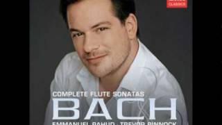 Emmanuel Pahud Bach Sonata in c major bwv 1033