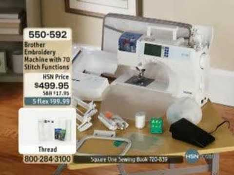 0 Brother Sewing and Embroidery Machine with 70 Built In...