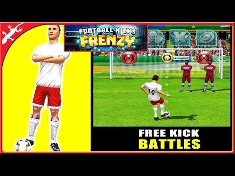 Football Kicks Frenzy : Head-To-Head Soccer Free Kick Battle (ios Gameplay)