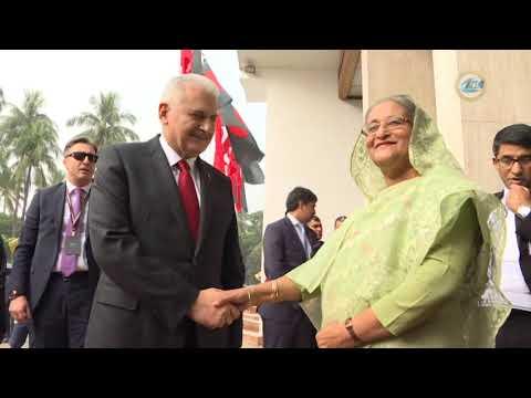Başbakan Yıldırım, Bangladeş Başbakanı Hasina İle Görüştü