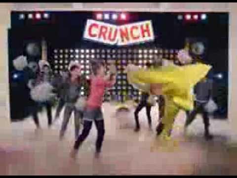 Nestle Crunch Commercial Nestlé Crunch Wafer Singer