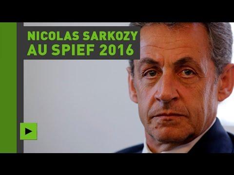 Discours de Nicolas Sarkozy au SPIEF 2016 (Direct du 16.06.16)