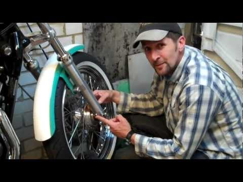 Delboy's Garage. How-To Change Harley Sportster Fork Oil.